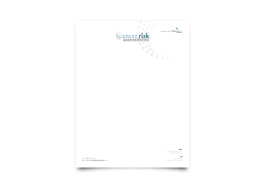 Cancer Risk Assessment Letterhead